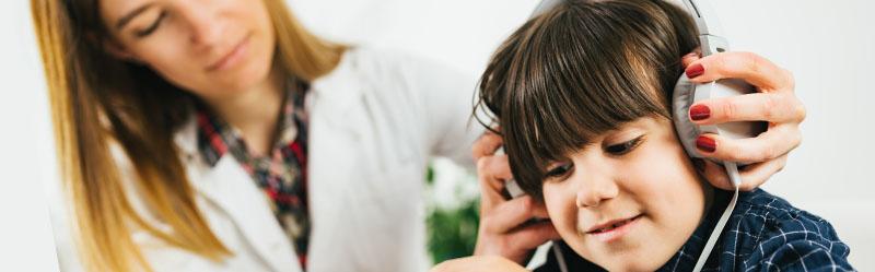 Avaliação Audiológica Clínica para Crianças