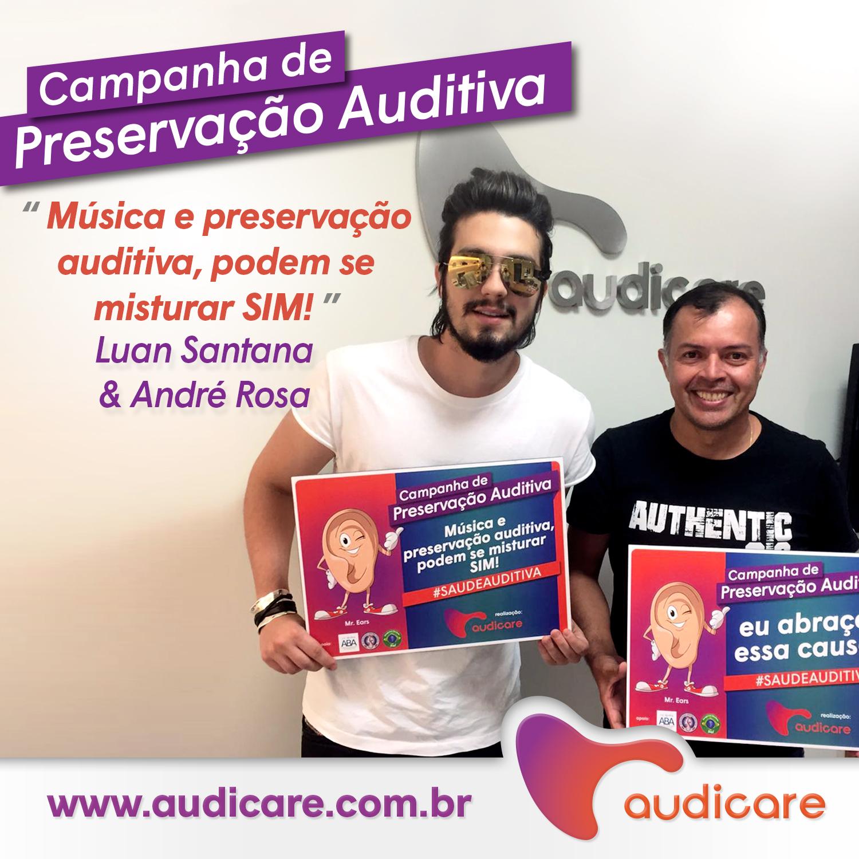 Luan Santana e Andre Rosa